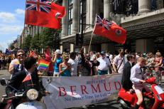 Bermudians In 2010 UK Gay Pride Parade