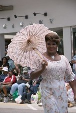 Sybil aka Mark Anderson at Bermuda Day parade, 2008