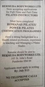 Bermuda Bodybuilders